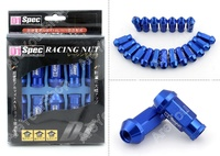 KIT 20 TUERCAS ALUMINIO RACING 12X150 AZUL